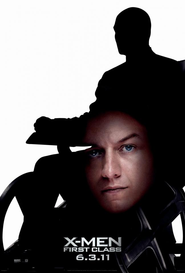 плакат фильма характер-постер Люди Икс: Первый класс