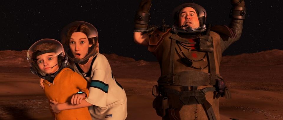 кадры из фильма Тайна Красной планеты