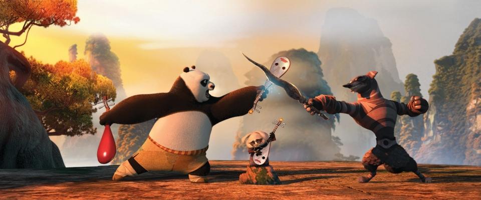 кадры из фильма Кунг-фу панда 2 Джек Блэк,