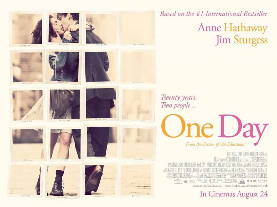 плакат фильма биллборды Один день