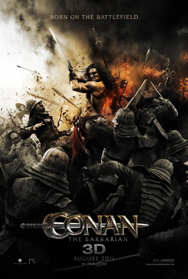 плакат фильма постер Конан-варвар