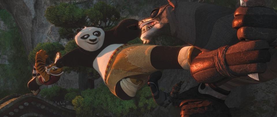 кадры из фильма Кунг-фу панда 2 Анджелина Джоли, Джек Блэк,