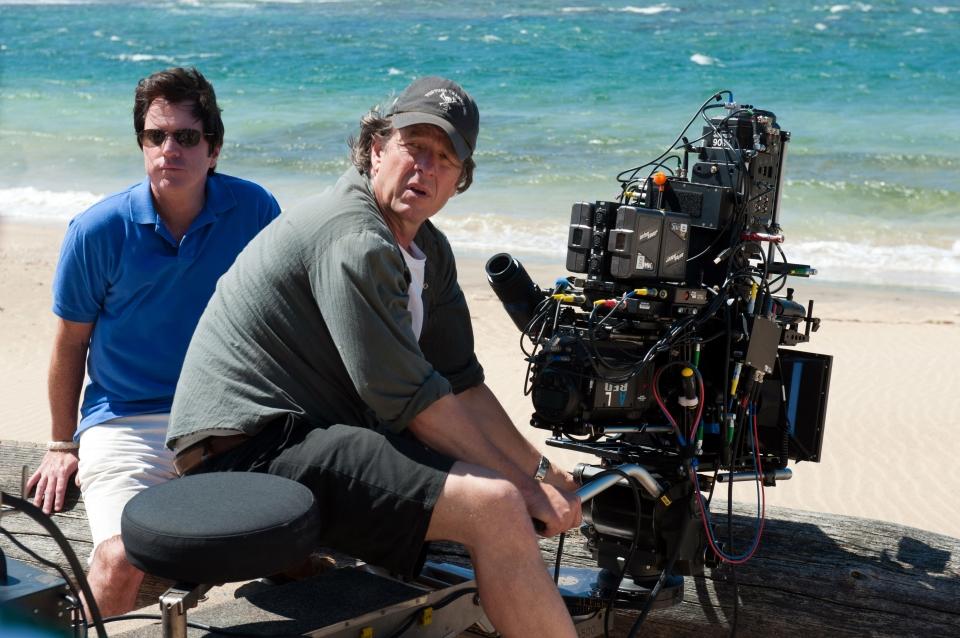 со съемок Пираты Карибского моря: На странных берегах Роб Маршалл,