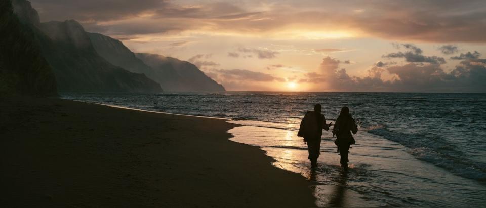 кадры из фильма Пираты Карибского моря: На странных берегах Кевин МакНэлли, Джонни Депп,