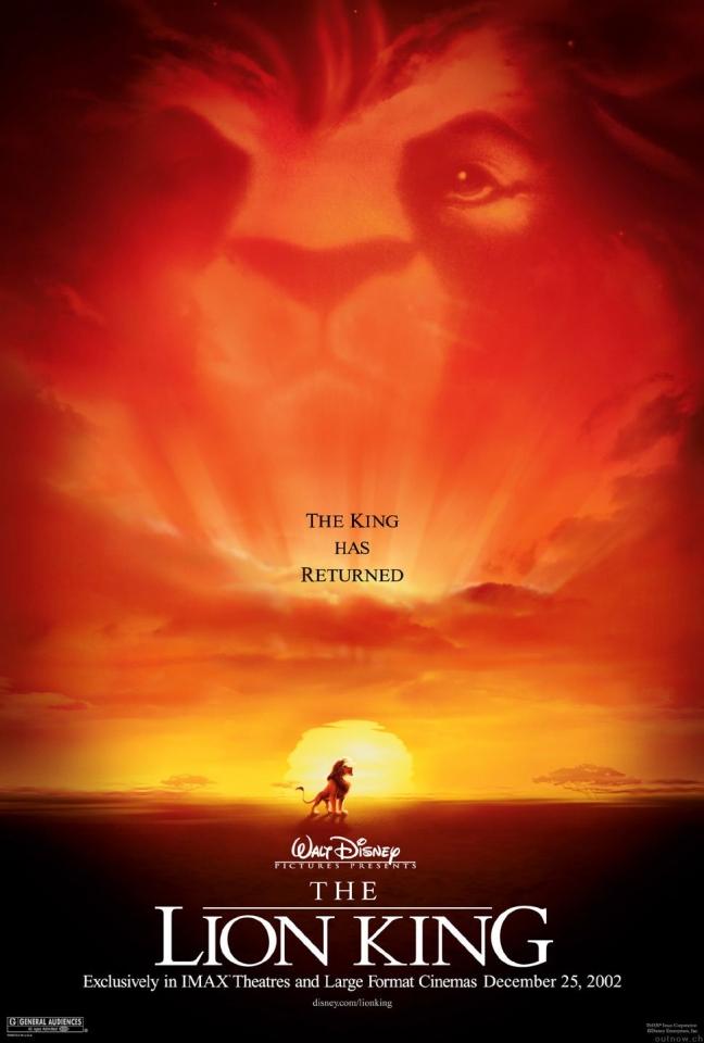 плакат фильма IMAX-постер Король лев