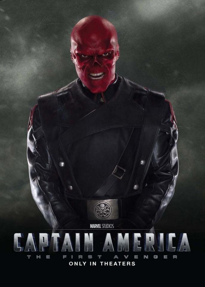 плакат фильма характер-постер Первый Мститель