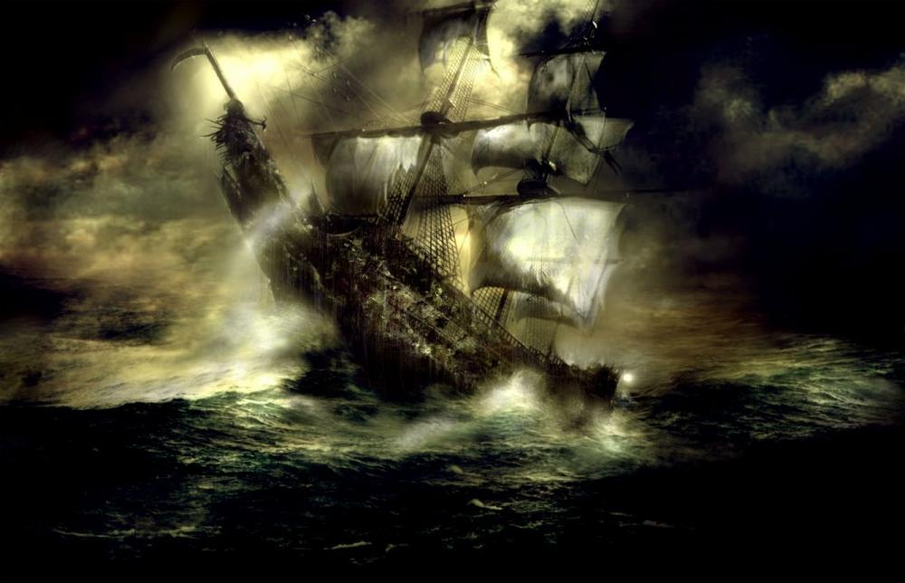 концепт-арты Пираты Карибского моря: Сундук мертвеца