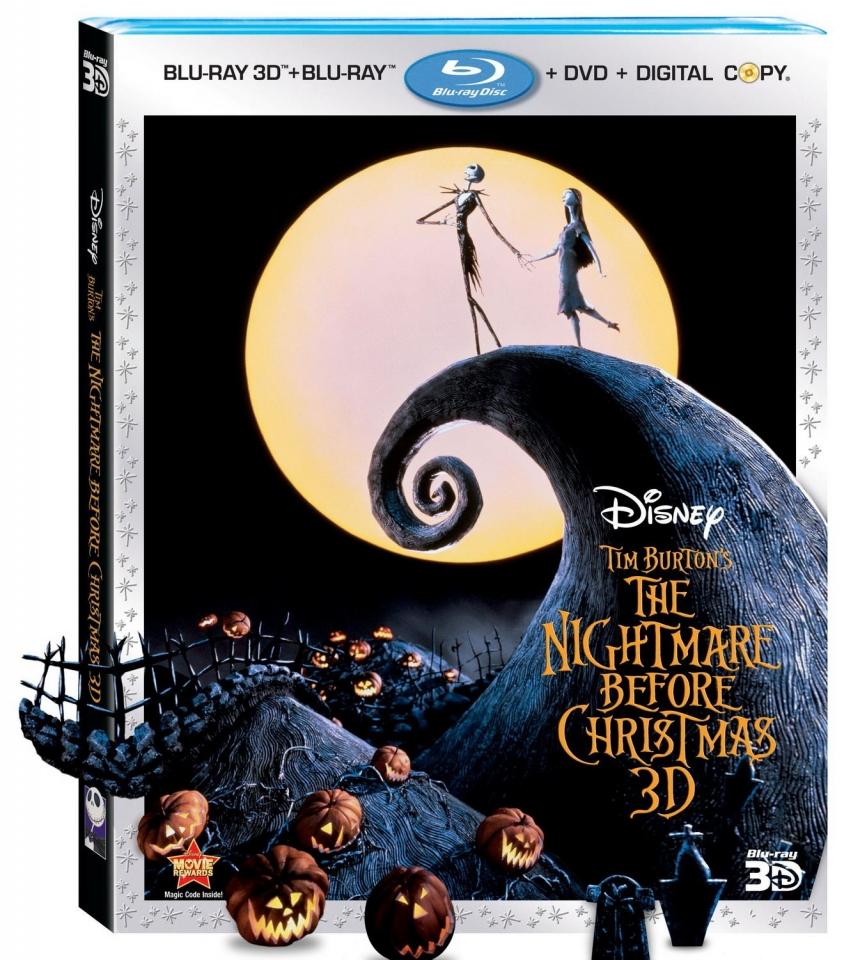 плакат фильма Blu-Ray Кошмар перед Рождеством