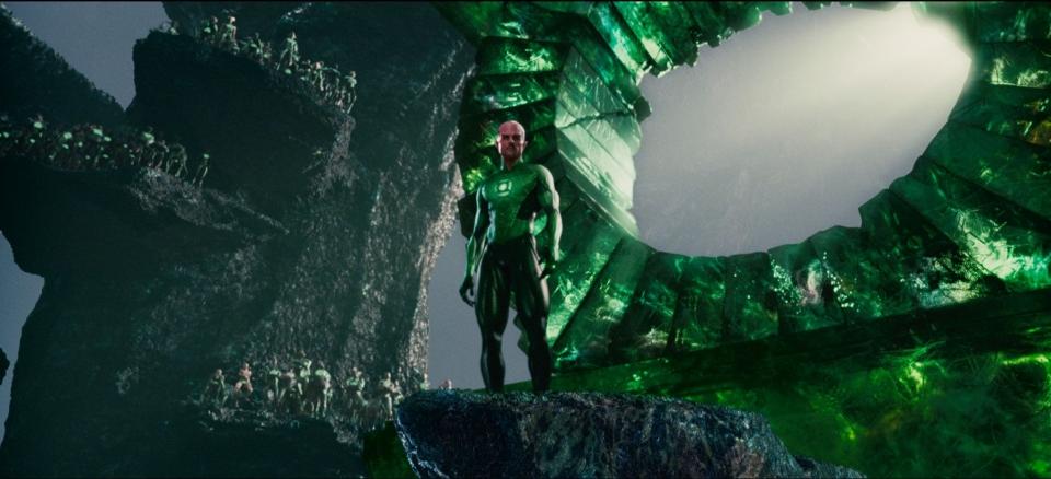 кадры из фильма Зеленый Фонарь Марк Стронг,