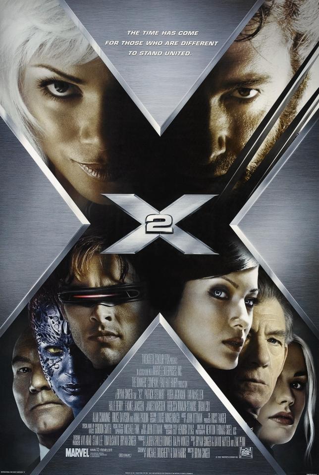 плакат фильма Люди Икс 2