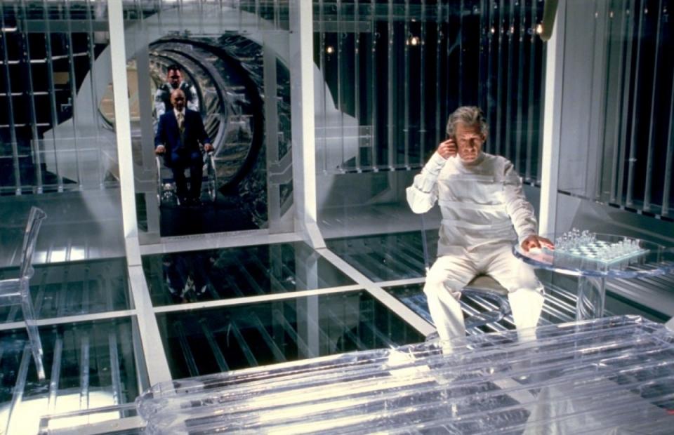 кадры из фильма Люди Икс 2 Патрик Стюарт, Иэн МакКеллен,