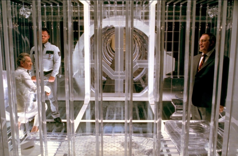 кадры из фильма Люди Икс 2 Брайан Кокс, Иэн МакКеллен,