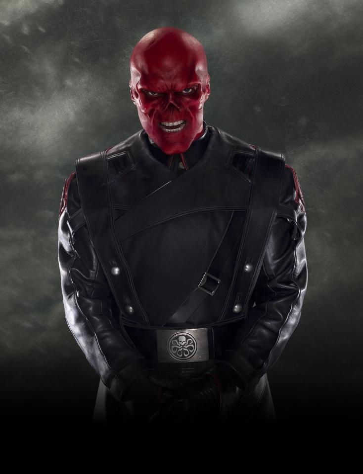 плакат фильма характер-постер textless Первый Мститель