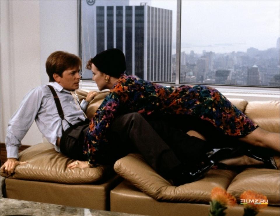 кадры из фильма Секрет моего успеха Майкл Джей Фокс, Маргарет Уиттон,