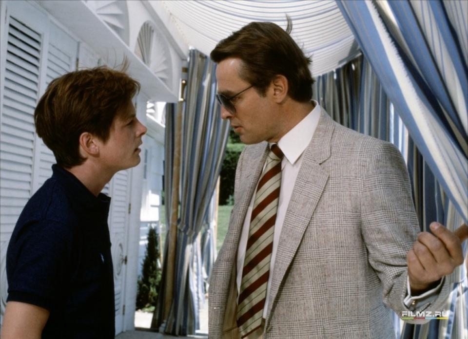 кадры из фильма Секрет моего успеха Майкл Джей Фокс, Ричард Джордан,