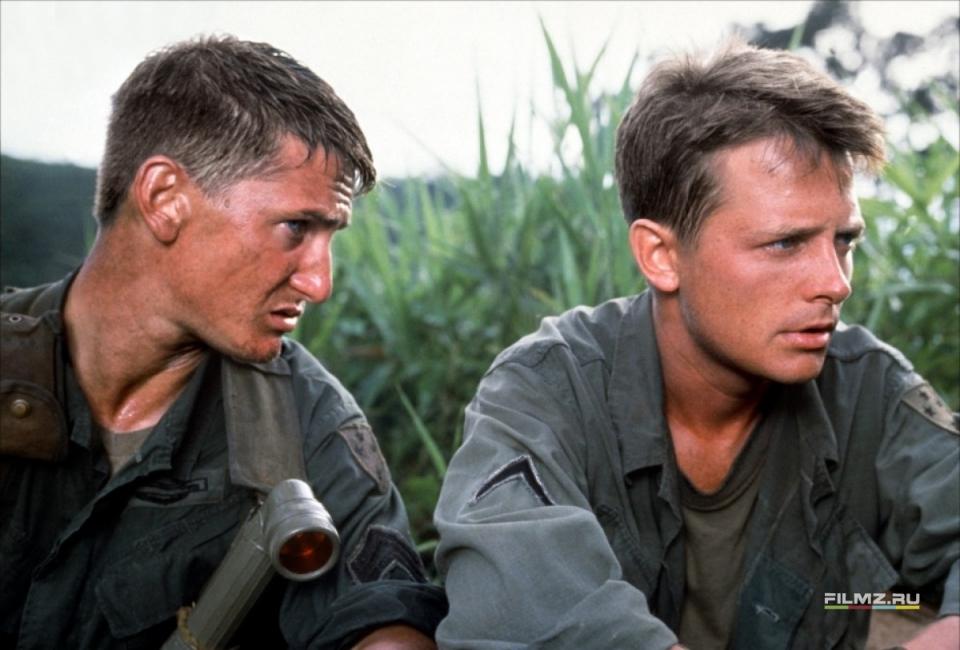 кадры из фильма Военные потери Шон Пенн, Майкл Джей Фокс,
