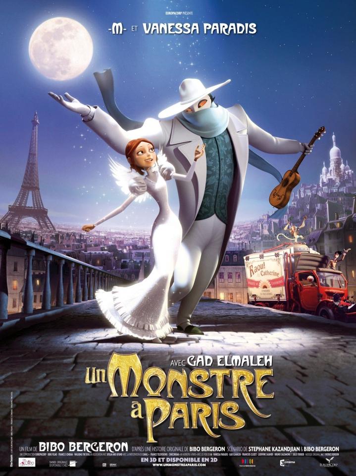 плакат фильма постер Монстр в Париже