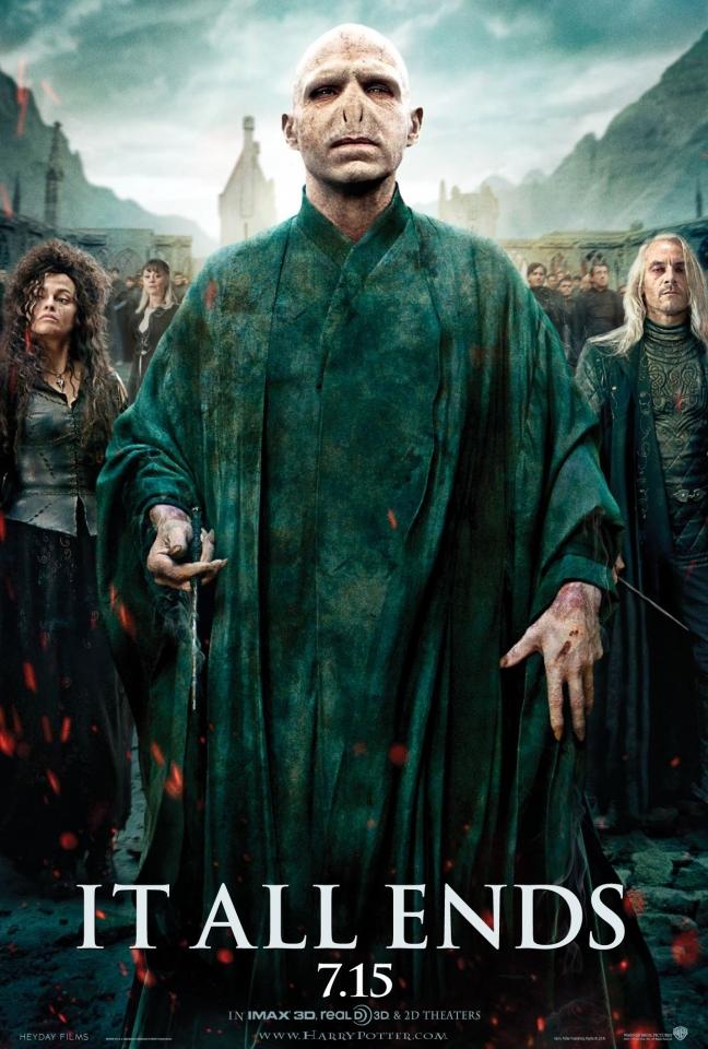 плакат фильма постер Гарри Поттер и Дары Смерти: Часть вторая
