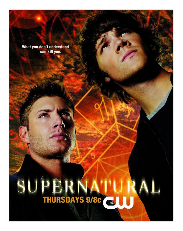 плакат фильма постер Сверхъестественное