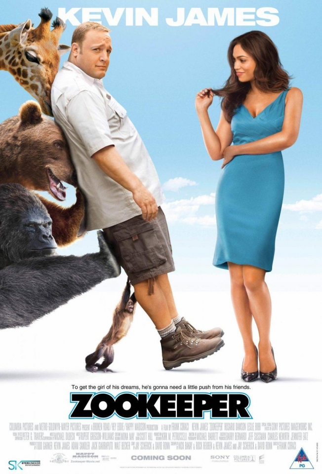 плакат фильма постер Мой парень из зоопарка