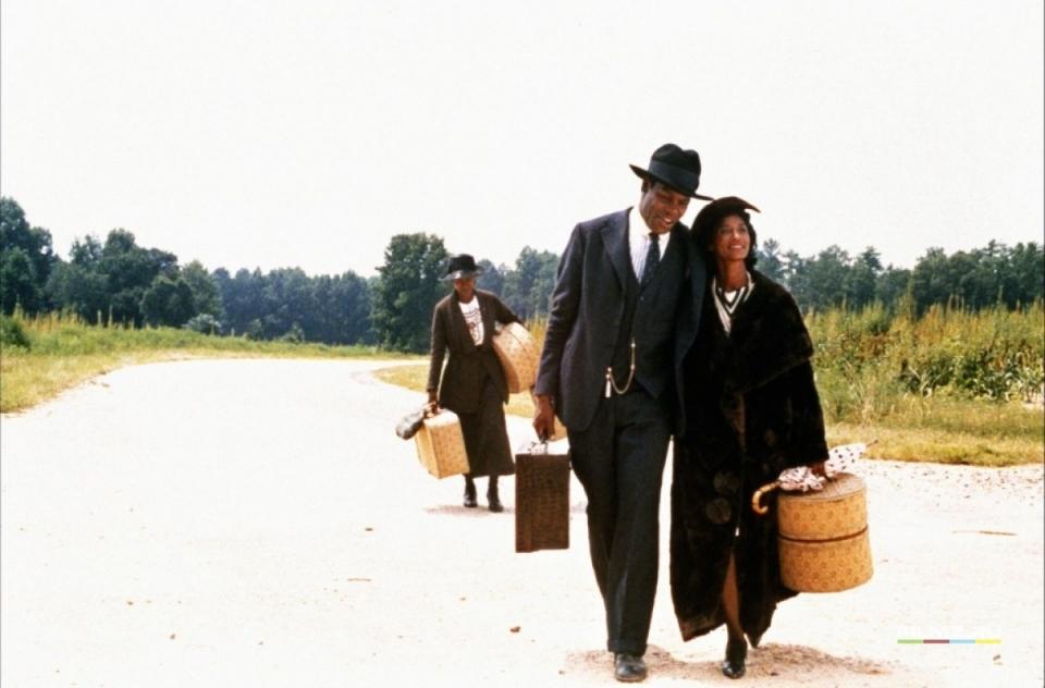 кадры из фильма Цветы лиловые полей Вупи Голдберг, Дэнни Гловер, Маргарет Эвери,