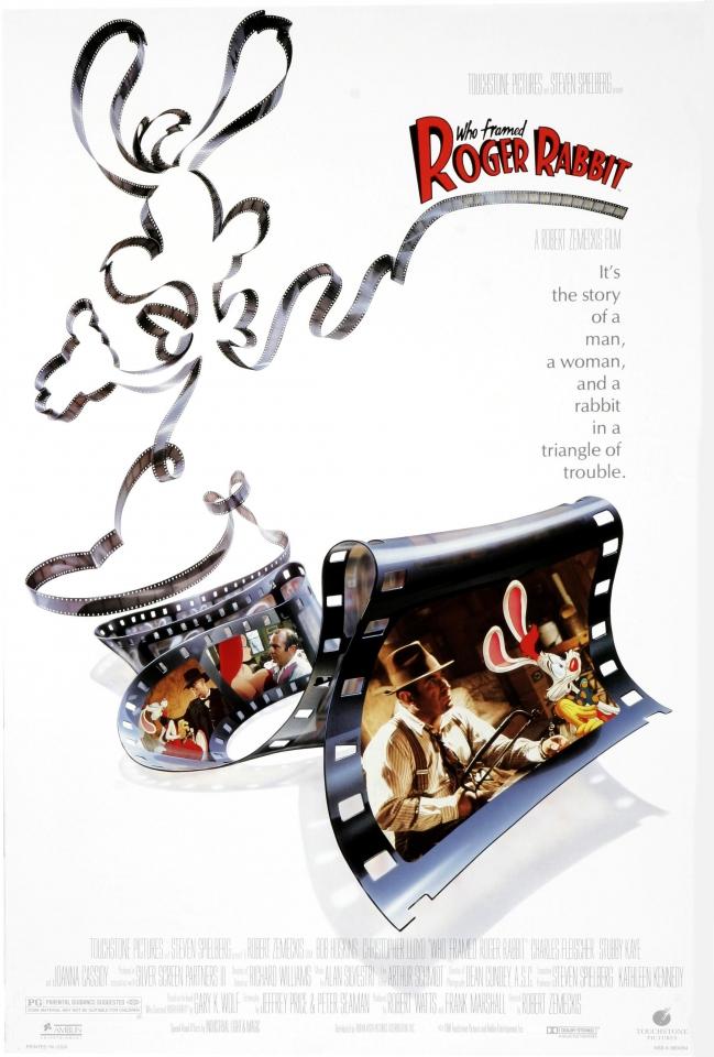 плакат фильма тизер Кто подставил кролика Роджера