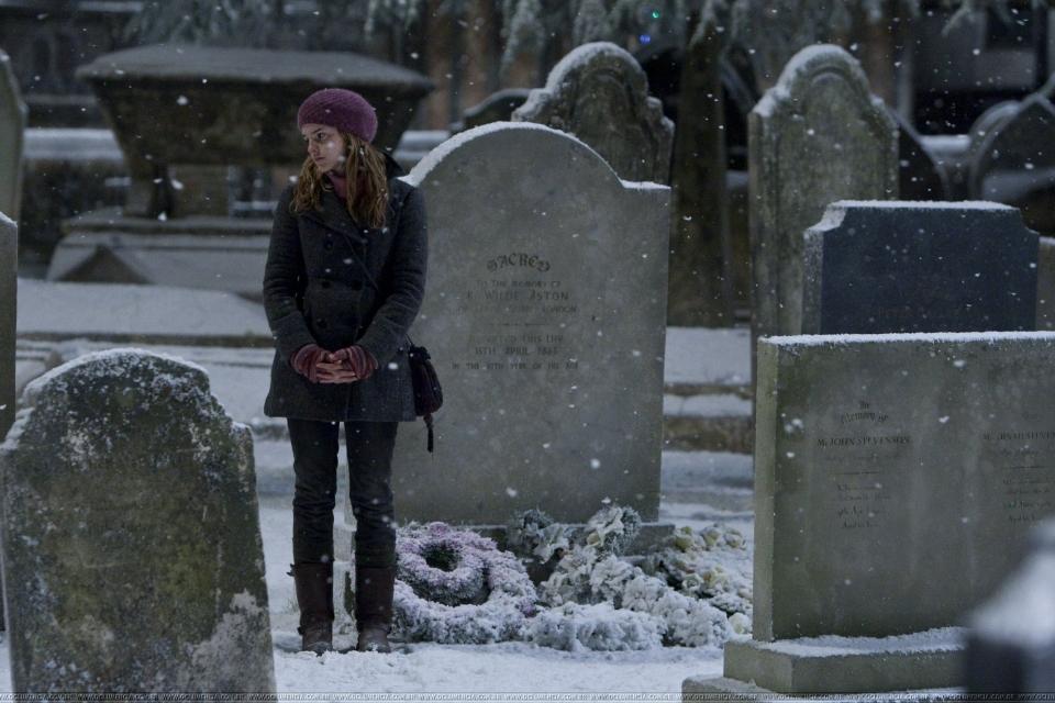 кадры из фильма Гарри Поттер и Дары Смерти: Часть первая Эмма Уотсон,