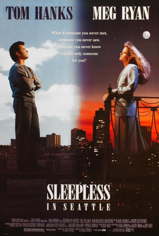 плакат фильма Неспящие в Сиэтле