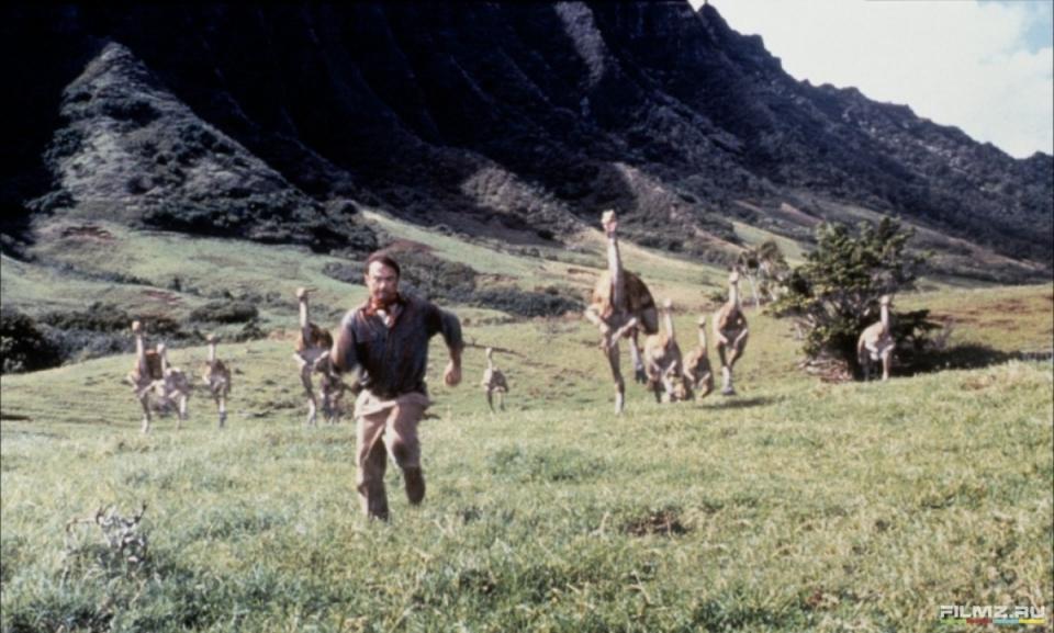 кадры из фильма Парк Юрского периода Сэм Нилл,