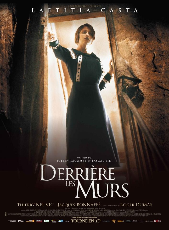 плакат фильма постер Кошмар за стеной