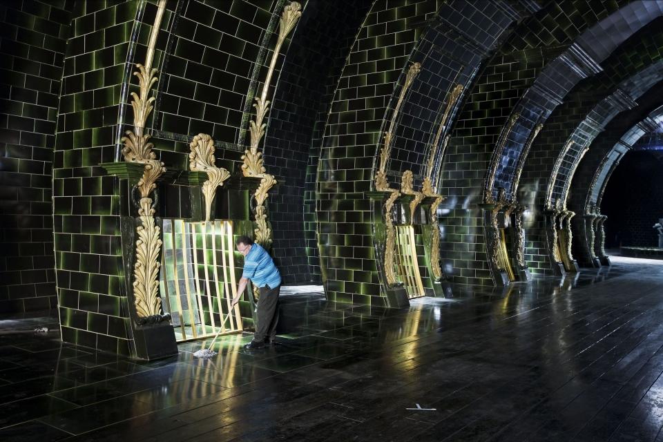 со съемок Гарри Поттер и Дары Смерти: Часть первая