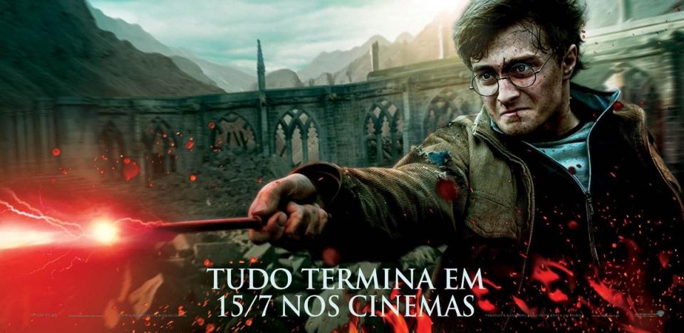 плакат фильма характер-постер баннер Гарри Поттер и Дары Смерти: Часть вторая