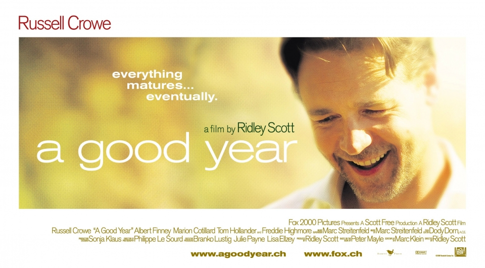 плакат фильма биллборды Хороший год