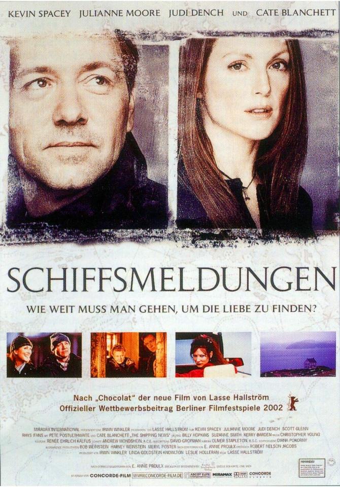 плакат фильма Корабельные новости