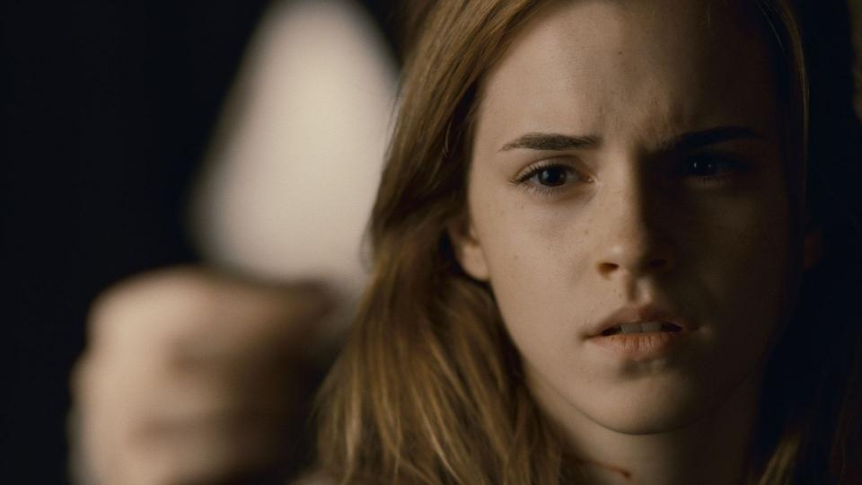 кадры из фильма Гарри Поттер и Дары Смерти: Часть вторая Эмма Уотсон,