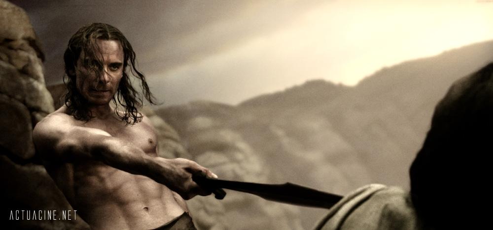 кадры из фильма 300 спартанцев Майкл Фассбендер,