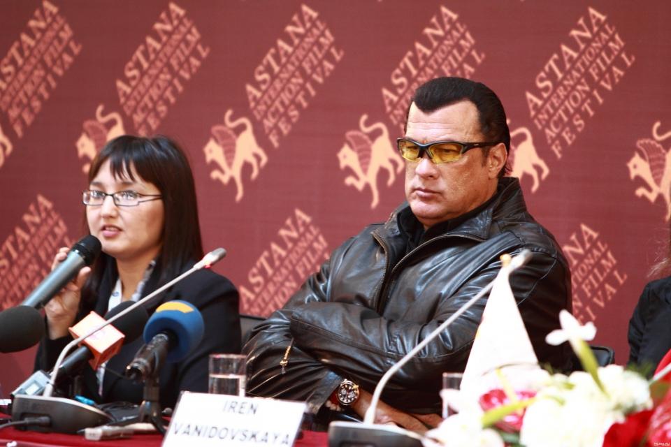 II Международный фестиваль экшн-фильмов «Astana» Стивен Сигал,