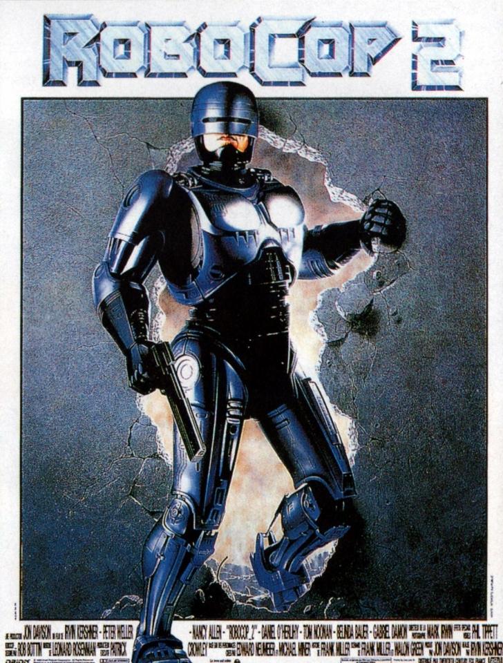 плакат фильма Робокоп 2