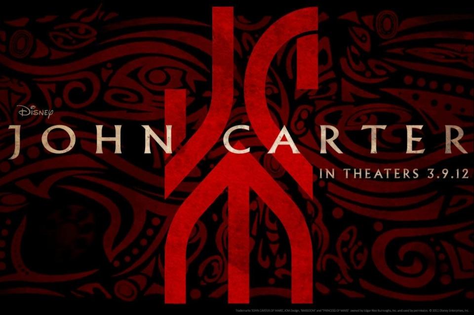 плакат фильма тизер биллборды Джон Картер