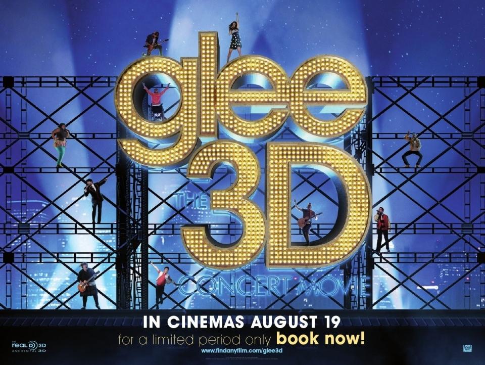 плакат фильма биллборды Лузеры: Живой концерт в 3D*