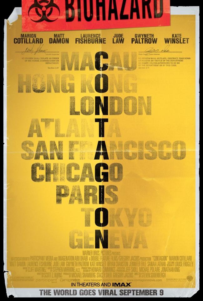 плакат фильма тизер Заражение