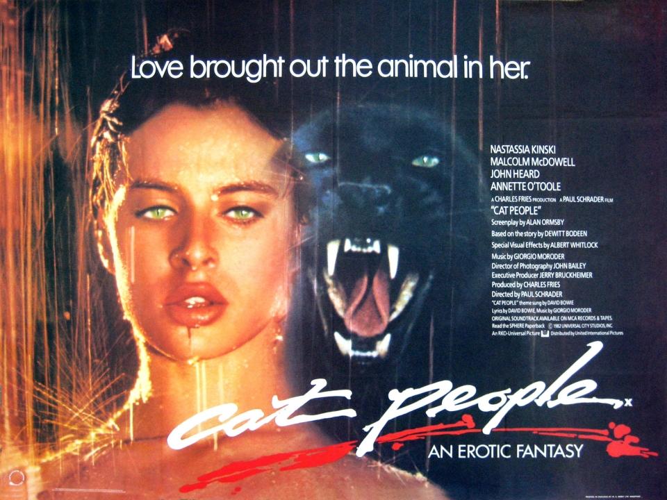 плакат фильма баннер Люди-кошки