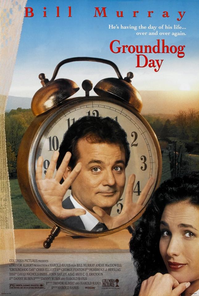 плакат фильма День сурка