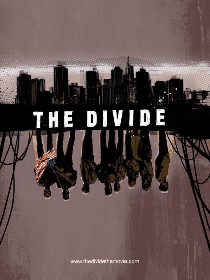 плакат фильма арт-постеры Разделитель