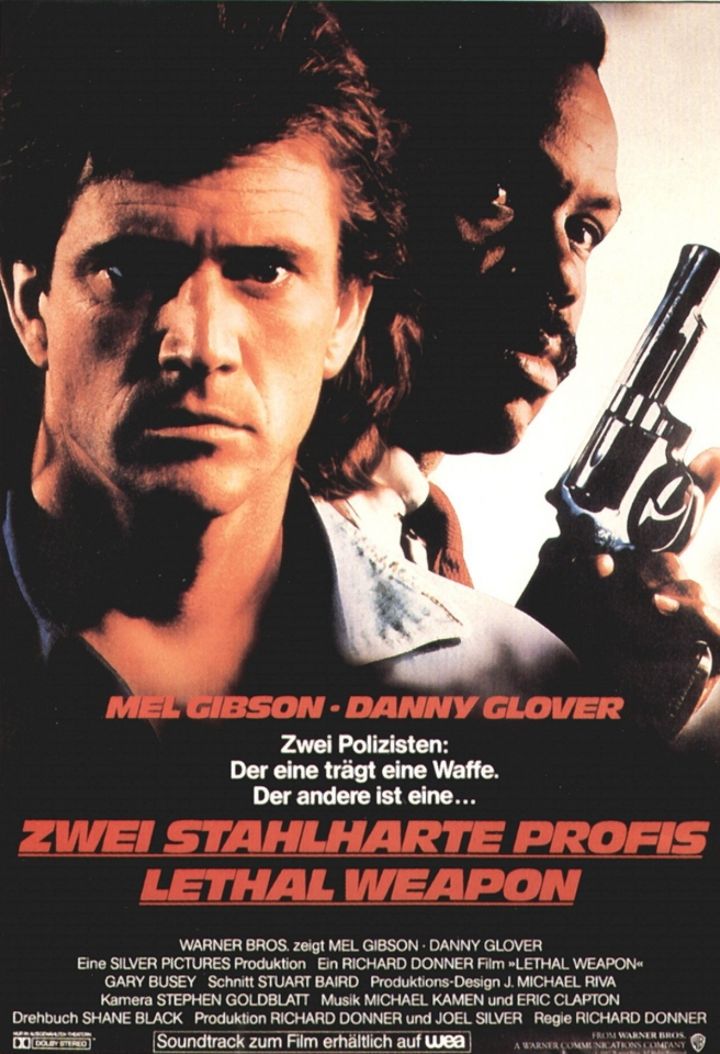 плакат фильма Смертельное оружие