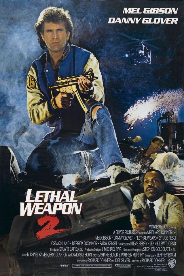 плакат фильма Смертельное оружие 2