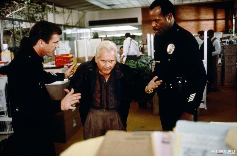 кадры из фильма Смертельное оружие 3 Джо Пеши, Дэнни Гловер, Мел Гибсон,