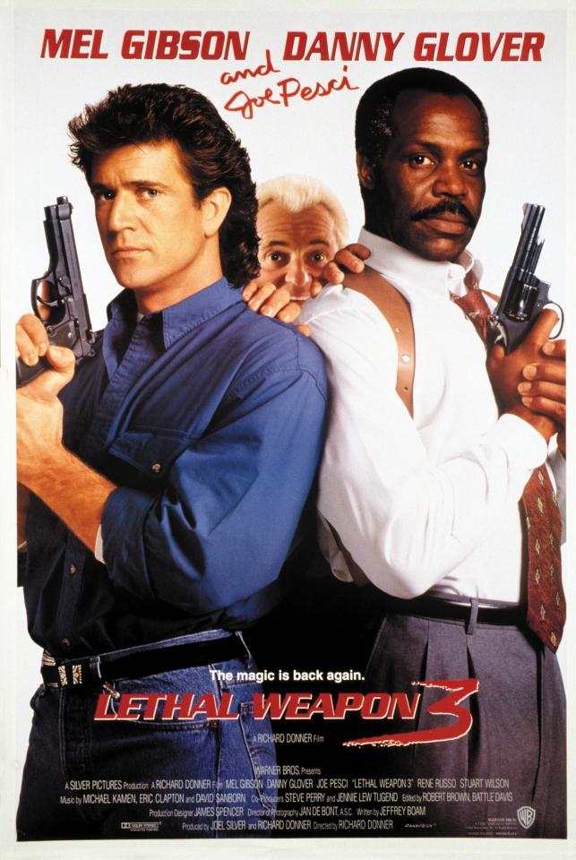 плакат фильма Смертельное оружие 3