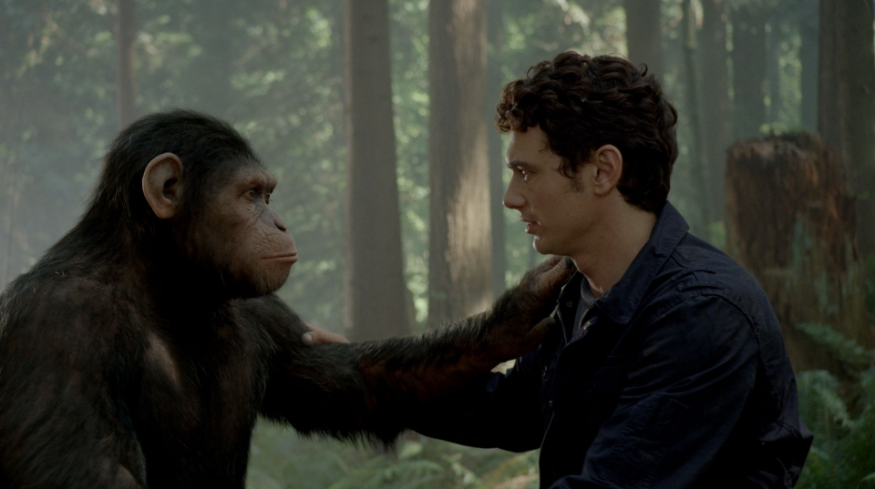 кадры из фильма Восстание планеты обезьян Джеймс Франко,