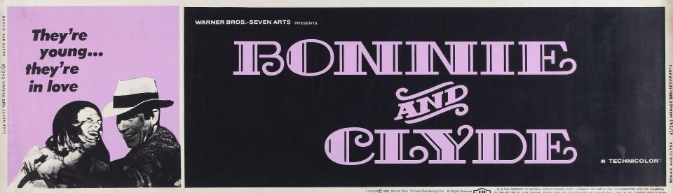 плакат фильма баннер Бонни и Клайд